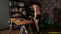 Ella Bella, Katie Olsen, Romana Ryder, Stacey Duvall – Studying In The Library