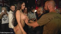 Download Big Tit Spanish Supermodel Bound & Dragged Through Madrid City Center