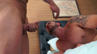 Gay Porn Star Tyler Wolf cums inside of muscle hunk, Austin Wolf