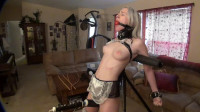 Super bondage, domination and torture for sexy slave girl