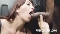 Hot Latina Swallowing All