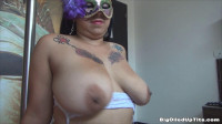busty carmen has oiling her big knockers