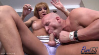 Christian And busty Alexis Dvyne welcomes a hot stud to the neighborhood (2015)