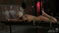 Super bondage, suspension and torture for sexy young blonde