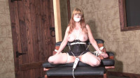 Bound and Gagged – Dungeon Strappado and Orgasm for Lorelei