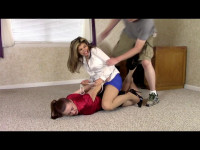 Candle Boxxx Serene Isley Office Thief, Bound, Spanked, and Groped