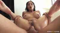 Her Hot Anal Sex In A Bathroom