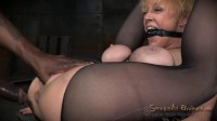 Hardcore anal fucking with BBC, multiple squirting orgasms, flexible big breasted Darling destroyed!