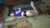 Sultry Brazilian Self Bondage