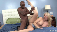 Black Truck Driver Asks Brooke Scott For Blowjob And Piece Of Ass