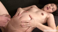 Gorgeous Young Marketta strips, then gets Fucked!