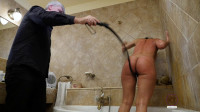 Beauty Slave Punished At Bath