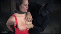 Brutal Breast Bondage in a Wire Frame Cage