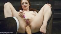 Big Tit, Big Ass Nun teaches Porn star how to be humble with Huge Anal