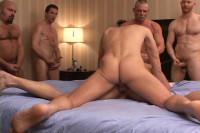 Ultimate cum-slut gangbanged by many dicks & many loads