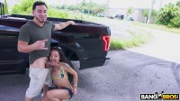 Holly Hendrix does Anal in Public 720p