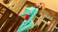 Turquoise Lucra Catsuit — Full HD 1080p
