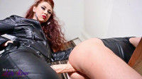 Mistress Lady Renee Full Leather Strapon