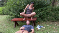 Pissing Action In The Garden (2016)