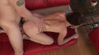 Download Cute chick loves to feel warm cum on face