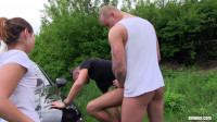 Horny Mixed Trio Pumping Their Asses (mouth, having, fun)...