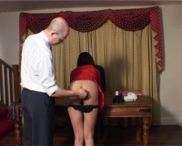 A harsh flogging in The Punishment Room