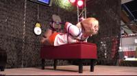Supertightbondage — Hooters Girl Hogtie