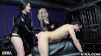 Nina Hartley's Role Reversal Threesome!