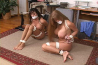 Bound and Gagged -Office Trouble Part 3 – Darla Crane and Ariella Ferrera