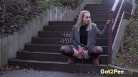 Stockings on Stairs - Debora - Full HD 1080p
