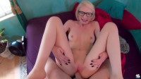 Alice Blonde Glasses Likes It Rough