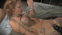 Busty blonde Rain DeGrey bound brutally assfucked 10 inches squirting orgasms! (2015)