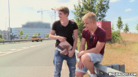 Hitchhiker Hunk Gets ButtFucked