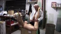 Fucking a babe slave