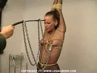slave bdsm video scene (LegalBdsm - Slave Christine 03).