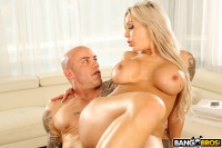 Busty Nina Squirts During Anal For A Messy Creampie! Set