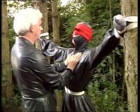 Bizarre exciting Rubber with o.a Master Hugo & Slavegirl Betty...