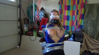 Cock tease tutor bound, gagged and groped