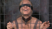 RTB - Darling blindfolded, caged and tagteamed by dick!