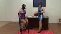 Holly Wood And Elizabeth Andrews - DayDreaming About Latex Playtime (blue, play, watch, download)