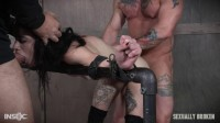 SB - May 05, 2017 - Lydia Black is a tiny spinner with a velvet throat and tiny pussy - throat, mouth, bondage, deep throat