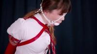 Self bondage teen (new, online, slave, vid)