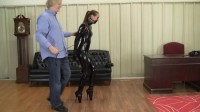 Madalynn Raye : Mr Big Boss's Ballet Heel Training (while, still, black, video)
