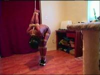 Hemp rope strappado (scene, extreme, home made).