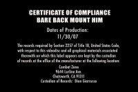 [Combat Zone] Bare back mount him Scene #5