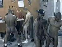 Interracial GangBang With Black Dicks