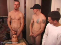 Download Eight Boys Stroking Cock