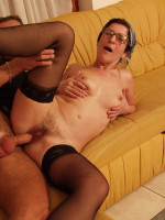 Download Hairy mature lady in action