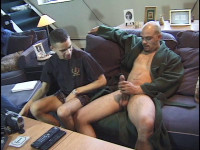 Barrio Bordello with big hairy dick
