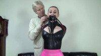 Serene Isley: Latex Secretary And A Strict Leather Hogtie - secretary, new, watch, skirt